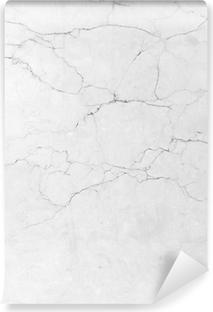 Vinil Duvar Resmi Beyaz mermer texture background. (Yüksek çözünürlük.)