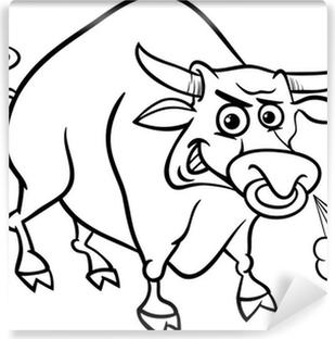 Boğa çiftlik Hayvanları Boyama Tuval Baskı Pixers Haydi