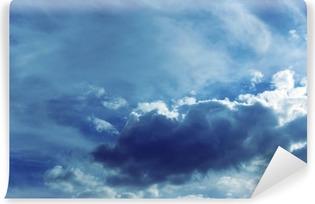 Vinil Duvar Resmi Bulutlar gökyüzü arka plan