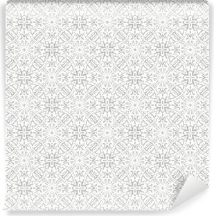 Vinil Duvar Resmi Çiçek geleneksel süsleme, düğün sorunsuz desen, bacground tasarım, vektör çizim