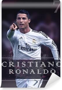 Vinil Duvar Resmi Cristiano Ronaldo