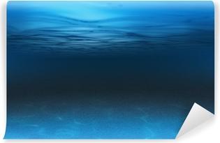 Vinil Duvar Resmi Deniz veya okyanus sualtı arka plan