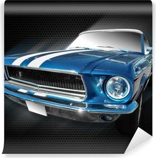 Vinil Duvar Resmi Ford Mustang