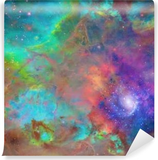 Vinil Duvar Resmi Galaktik Uzay
