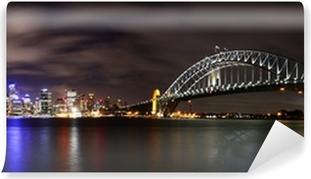 Vinil Duvar Resmi Geceleri şehir (Sidney, Avustralya)