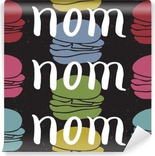 Vinil Duvar Resmi Gıda tipografik alıntı kartı
