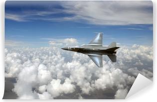 Vinil Duvar Resmi Gökyüzünde jetfighter