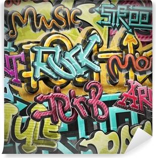 Vinil Duvar Resmi Grafiti grunge background