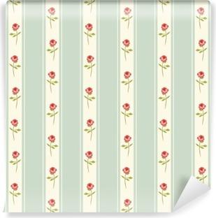 Vinil Duvar Resmi Gül ve mutfak tekstil ya da çarşaf kumaş, perde ya da iç duvar tasarımı, ideal Lekeli sevimli sorunsuz Shabby Chic desen hurda kağıt vb için kullanılabilir