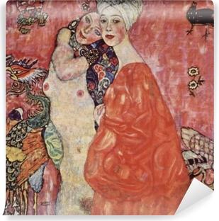 Vinil Duvar Resmi Gustav Klimt - Arkadaş