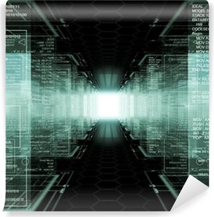Vinil Duvar Resmi Hacker dünyası
