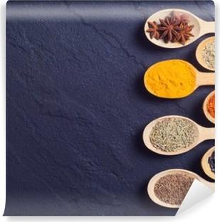 Vinil Duvar Resmi Hint baharat çeşitleri