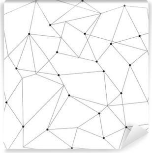 Vinil Duvar Resmi İskandinav geometrik Modern seamless pattern