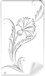 Karanfil çiçeği çini Deseni Tuval Baskı Pixers Haydi Dünyanızı