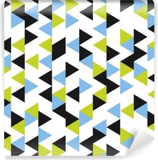 Vinil Duvar Resmi Kesintisiz geometrik desen