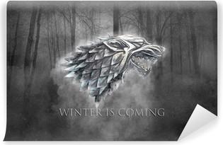 Vinil Duvar Resmi Kış geliyor