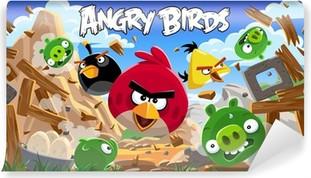 Vinil Duvar Resmi Kızgın kuşlar