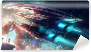 Vinil Duvar Resmi Mass Effect