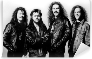 Vinil Duvar Resmi Metallica