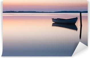 Vinil Duvar Resmi Mistik deniz. Özet doğal kökenden. Ay sahne güneş sonrası