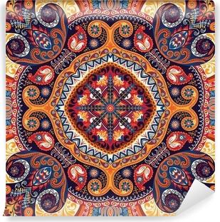 Vinil Duvar Resmi Paisley kerchief vektör desen