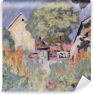 Vinil Duvar Resmi Pierre Bonnard - A Minha Casa em Vernon - o Jardim