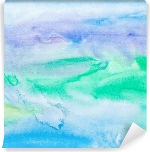 Vinil Duvar Resmi Renk suluboya resim sanatını vuruş