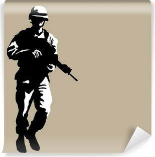 Silahli Asker Cikartmasi Pixerstick Pixers Haydi Dunyanizi