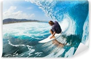 Vinil Duvar Resmi Sörf yapmak