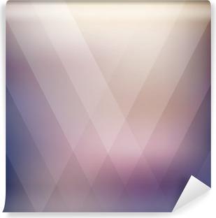 Vinil Duvar Resmi Soyut geometrik mor çokgen plan. vektör çizim