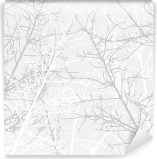 Vinil Duvar Resmi Şubeler desen doku. Yumuşak arka plan.