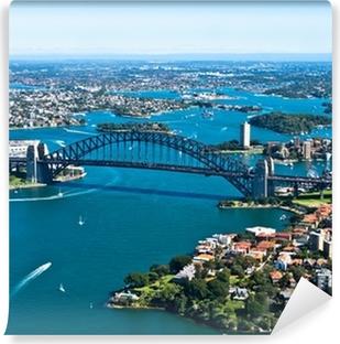 Vinil Duvar Resmi Sydney Harbour Bridge