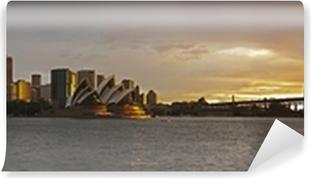 Vinil Duvar Resmi Sydney limanı büyük panorama