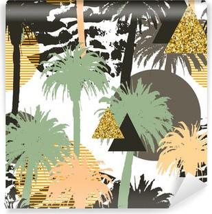 Vinil Duvar Resmi Tropik palmiyeler