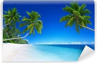 Vinil Duvar Resmi Tropikal cennet