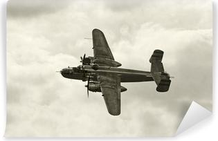 Vinil Duvar Resmi Uçuşta eski bombardıman