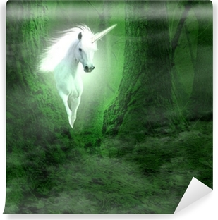 Vinil Duvar Resmi Unicorn
