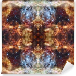 Vinil Duvar Resmi Universe simmetric arka plan. Bu Görüntü elemanları Eşyalı
