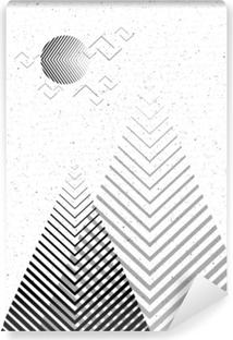 Vektör Geometrik üçgen Arka Plan En Az Elementsuse Kartı Afiş