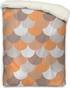 abstract seamless geometric pattern Duvet Cover