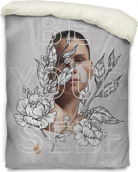 Be yourself Duvet Cover - Motivations