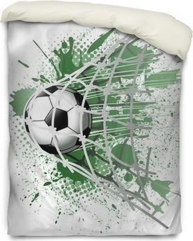 goal illustrations Duvet Cover