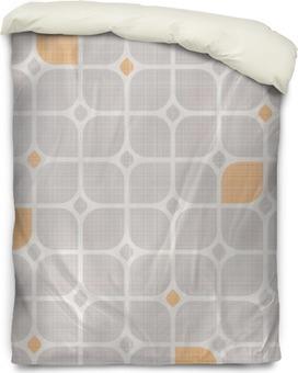 seamless geometric pattern Duvet Cover