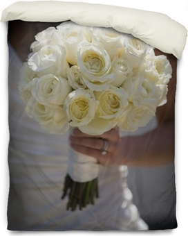 White rose flower bouquet wall mural pixers we live to change mightylinksfo