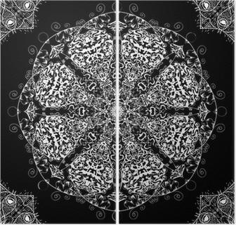 0bf5b8d720a674 Obraz na płótnie Bezszwowe tło koronki • Pixers® - Żyjemy by zmieniać