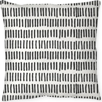 Federa per cuscino Linee astratte seamless pattern.