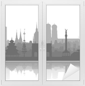 Fensteraufkleber München Sehenswürdigkeiten