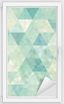 Fensteraufkleber Nahtlose Hintergrund mit abstrakten geometrischen Ornament
