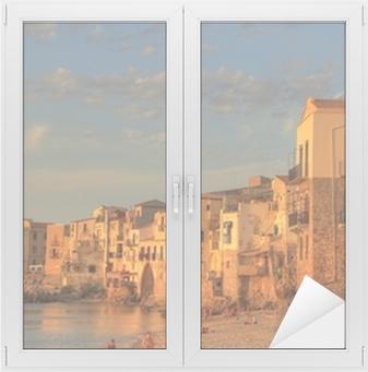 Fensteraufkleber Szenen von Sizilien