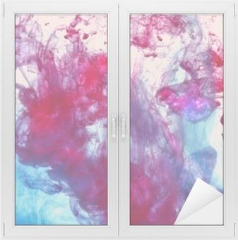 Fensteraufkleber Tinte in Wasserp